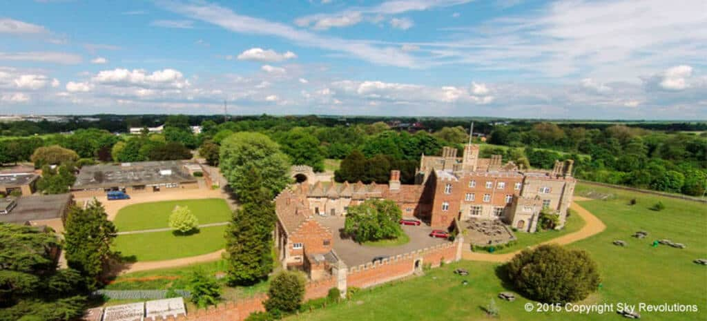 aerial photography cambs