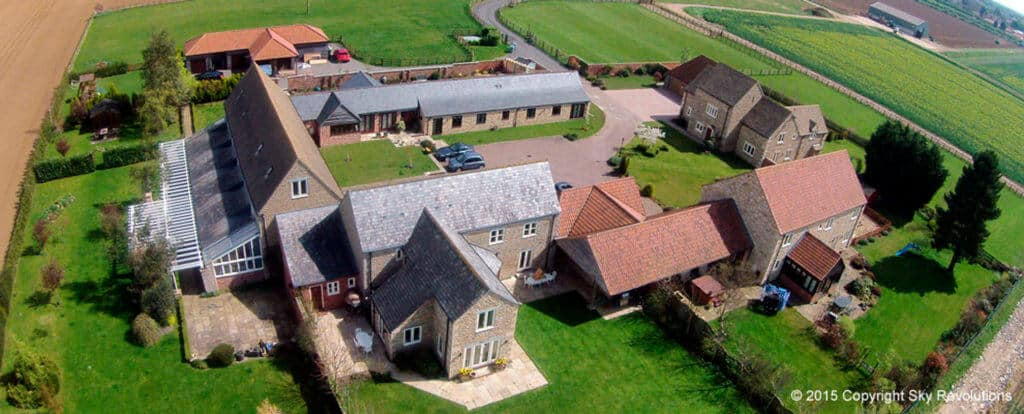 aerial photography langtoft