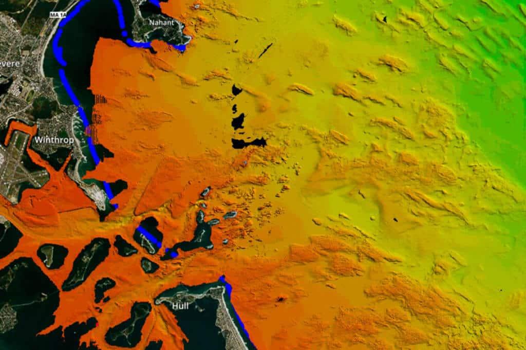 Aerial topographic surveys