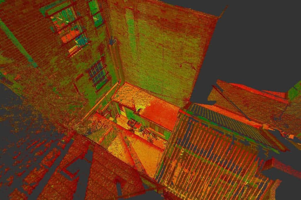 3D models using LiDAR sensors