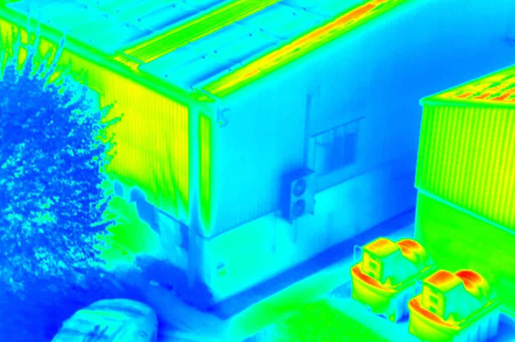 thermal imaging surveys and images