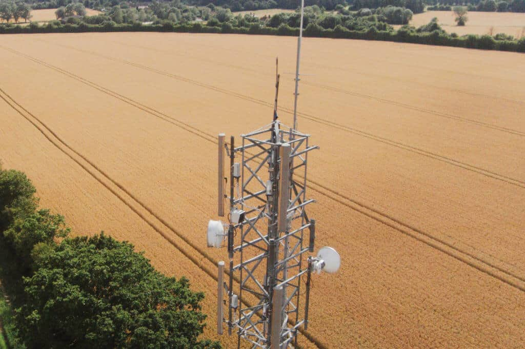 telecoms survey to inspect towers and masts