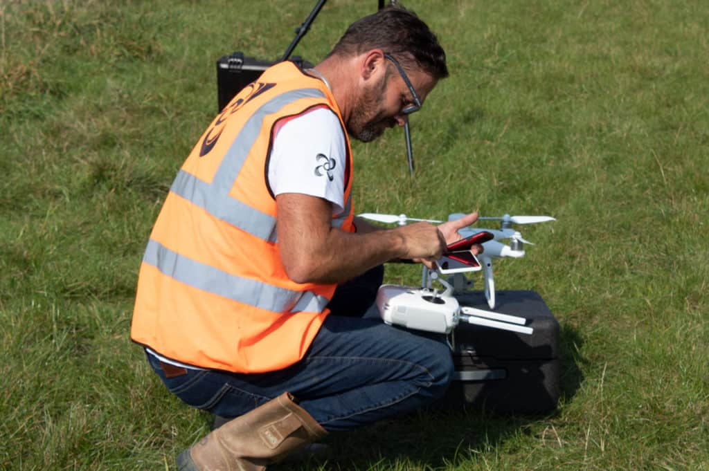 drone survey versus traditional survey