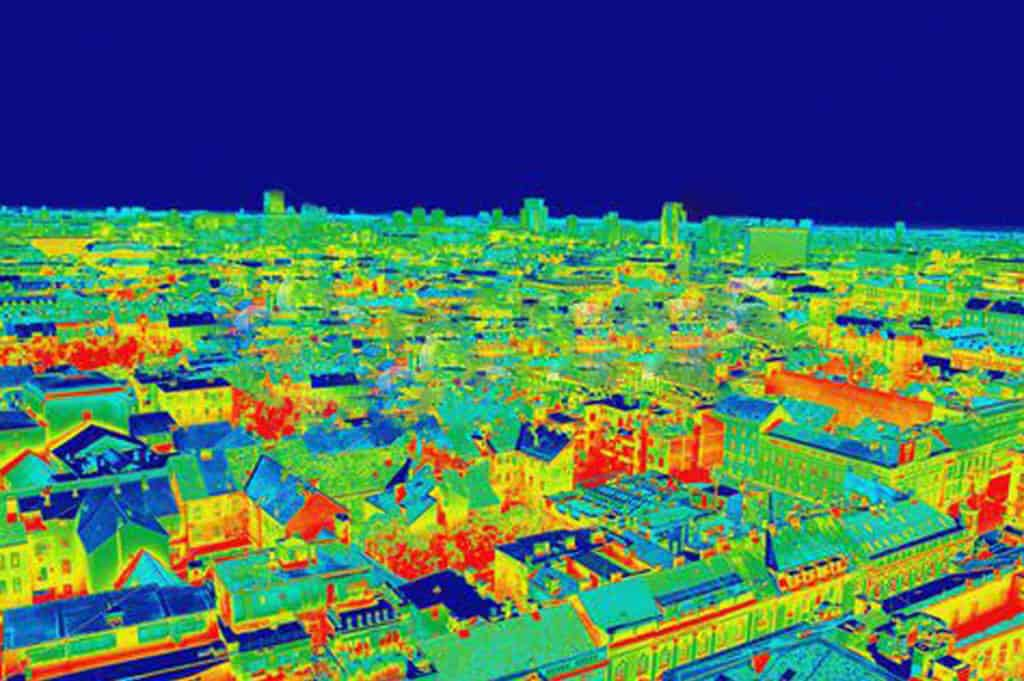 thermal imaging survey - heat sensitive cameras