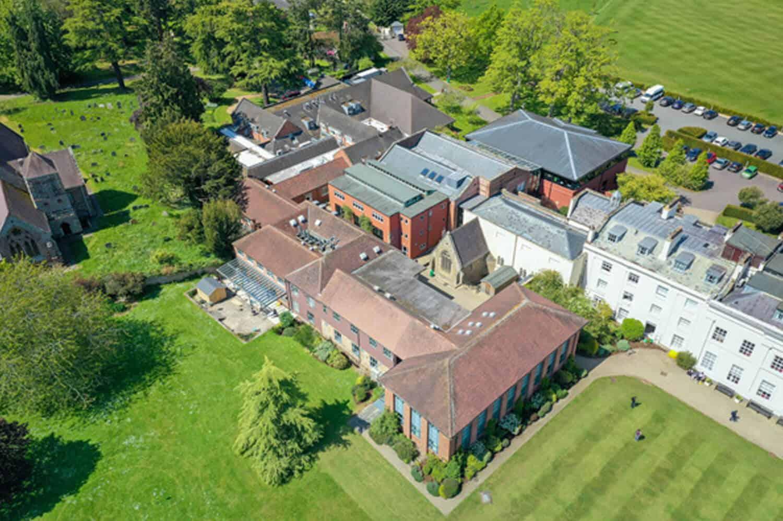drone filming concord college