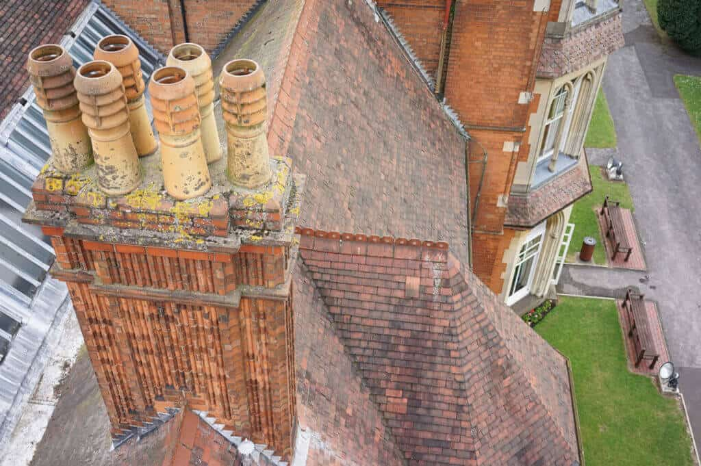 Roof surveys for condition survey reports