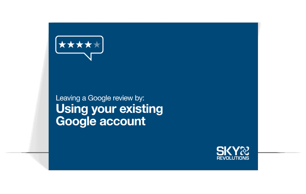 using your existing google account