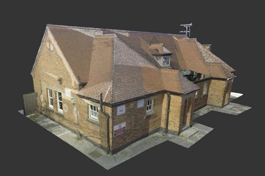 measured building survey examples